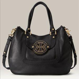 Tory Burch Amanda classic leather hobo bag (purse
